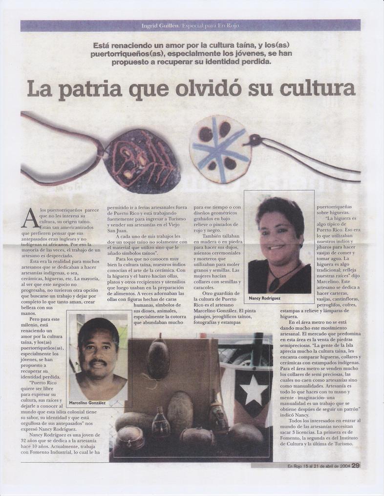 Articulos q escribi para En Rojo (pe by IngritaG