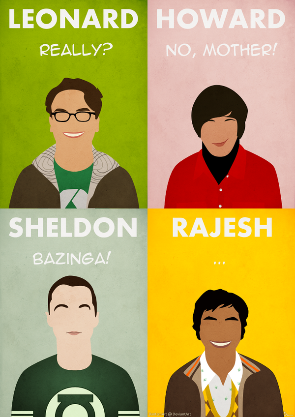 The Big Bang Theory by BantamArt