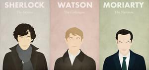 Sherlock * Watson * Moriarty