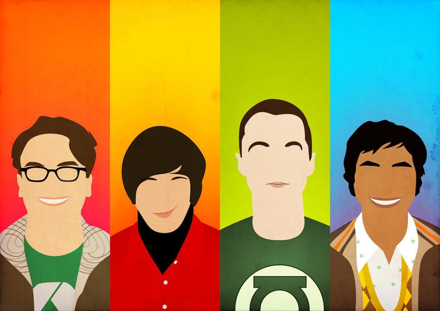 The Big Bang Theory (Ver. 2) by BantamArt