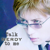 Gackt MSN Icon: V. Talk Nerdy by FullElven
