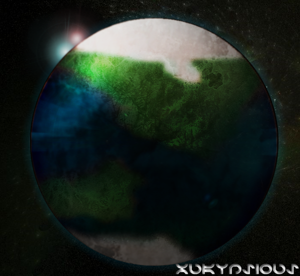 Planet Xukynsious by FullElven
