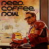 Ironman Coffee Icon by FullElven