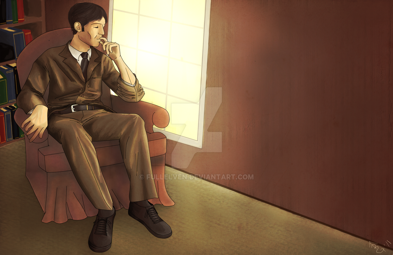 Commission: Sherlock Holmes by FullElven