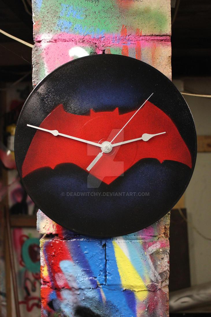 Batman clock by deadwitchy