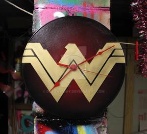 Wonder Woman Clock