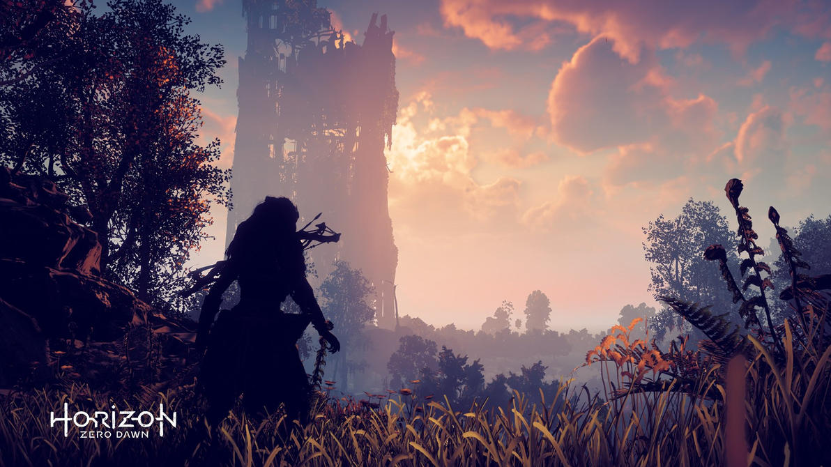 Horizon zero dawn wallpaper ruins of a old world by - Horizon zero dawn android wallpaper ...