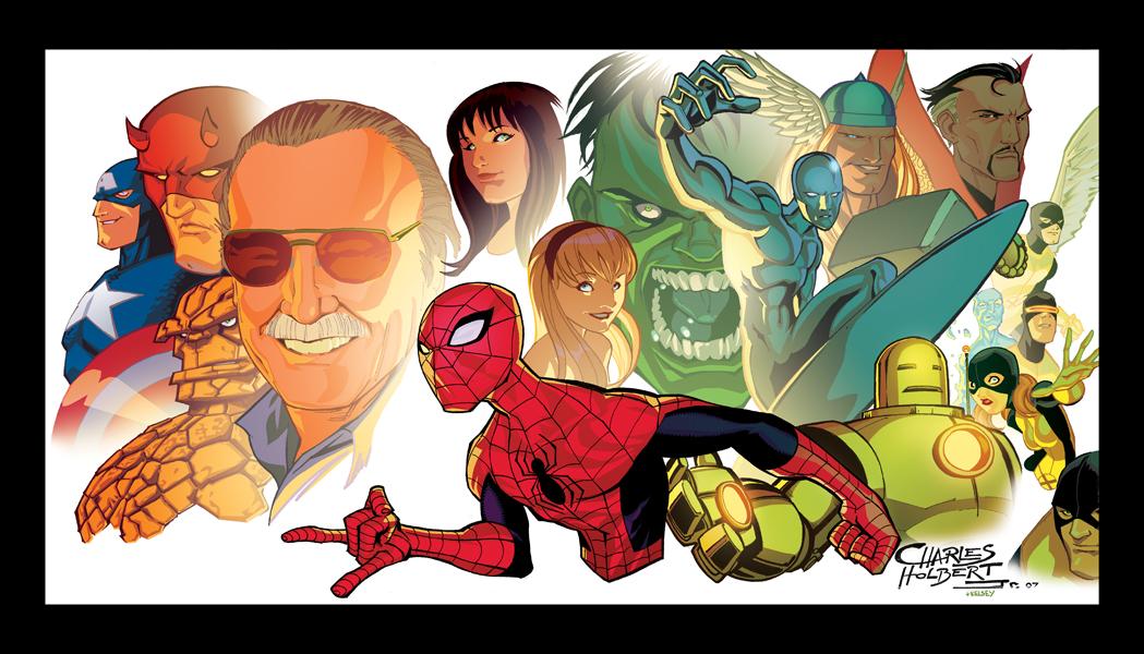 Stan Lee by KidNotorious
