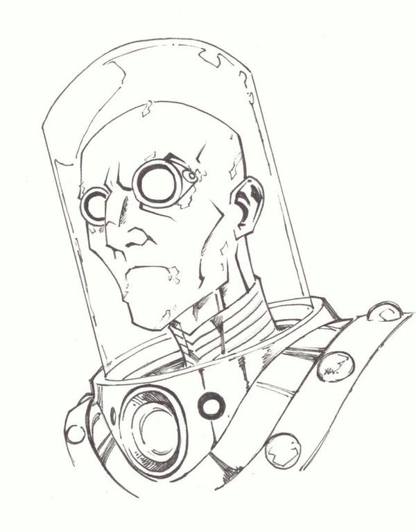 sketchy : Mr.Freeze by KidNotorious