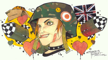 Tank Girl by KidNotorious