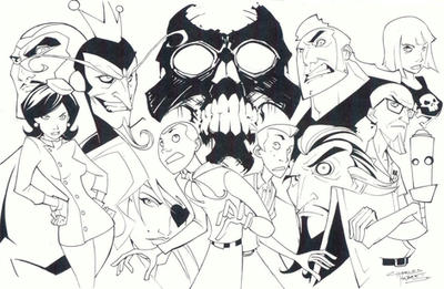 sketchy : The Venture Bros. by KidNotorious