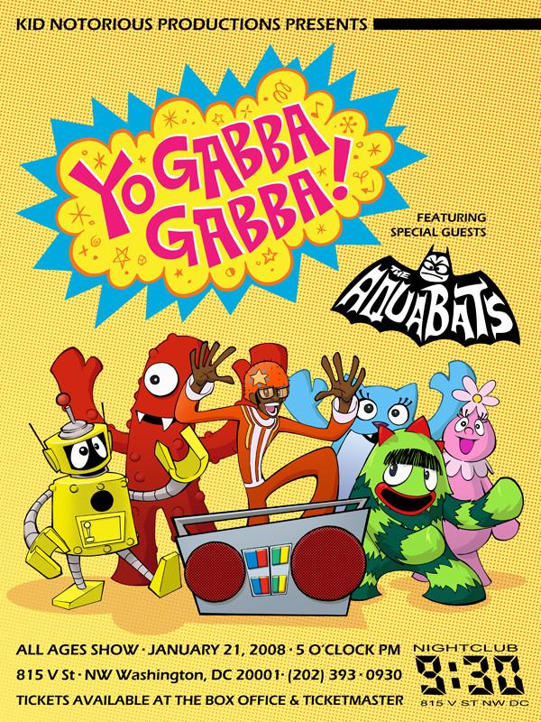 Yo Gabba Gabba by KidNotorious