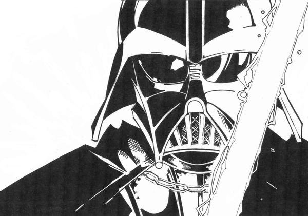 sketchy  Darth Vader by KidNotorious on DeviantArt