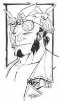 sketchy : Hellboy