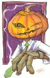 marker : Merv Pumpkinhead