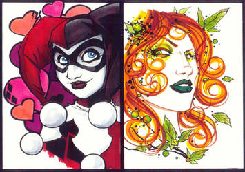 marker : Harley and Ivy by KidNotorious