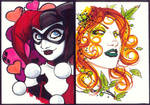 marker : Harley and Ivy