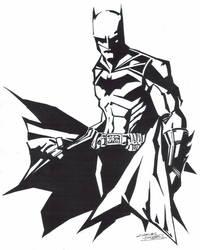 M.I.A Batman by KidNotorious