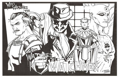 M.I.A Watchmen by KidNotorious