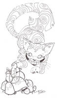sketchy: Cheshire Cat