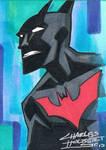 Batman Beyond sketch card