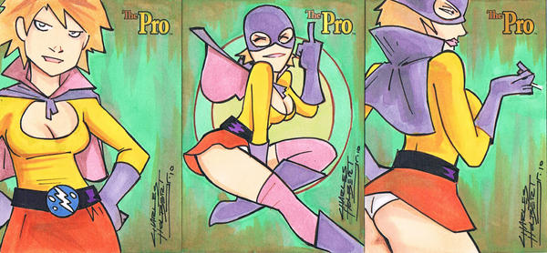 The Pro sketch card set 2 by KidNotorious