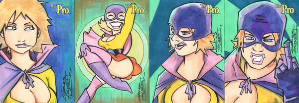 The Pro sketch card set 1 by KidNotorious
