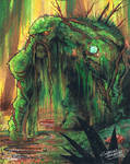 marker: Swamp Thing
