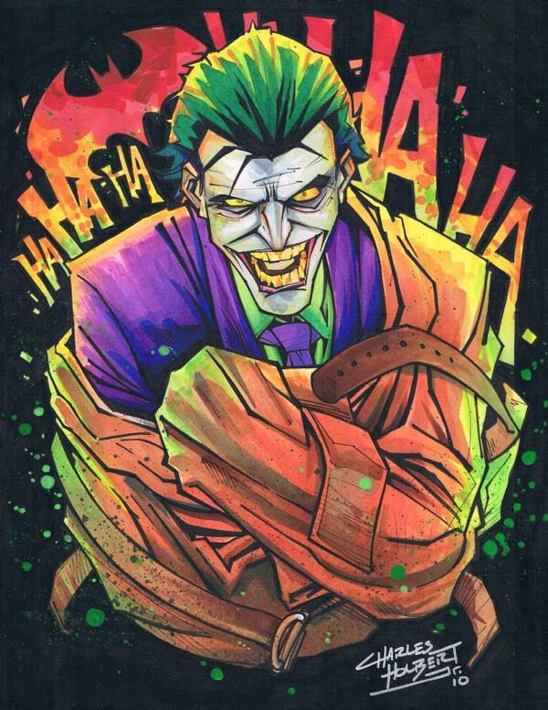 Watch more like The Joker In A Strait Jacket