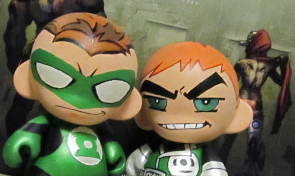 Munny Hal and Guy by KidNotorious