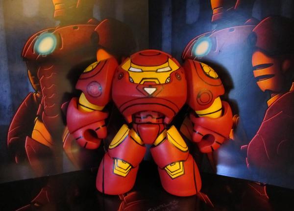 Hulkbuster Iron Man by KidNotorious