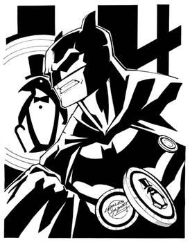 Comic Shop Batman