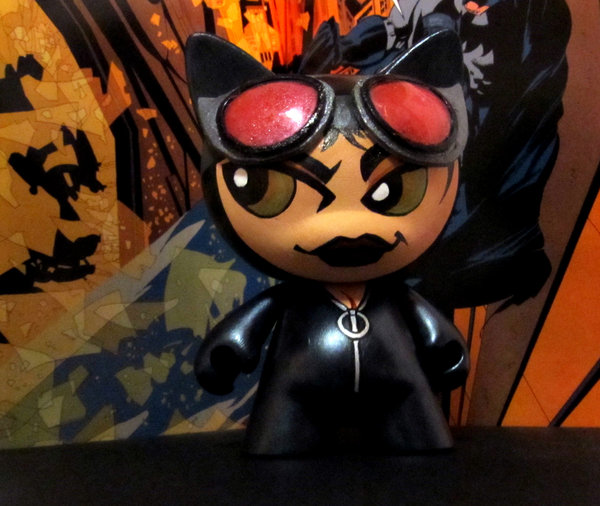 Catwoman Munny by KidNotorious