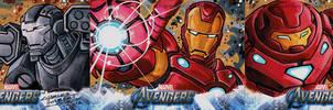 Avengers sketch cards Iron Man