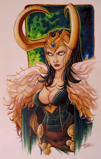 Lady Loki by KidNotorious