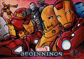 Marvel Beginnings 2 Iron Man by KidNotorious