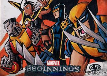 Marvel Beginnings 2 X-Men by KidNotorious