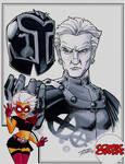 Comic Oasis Cardstock Magneto