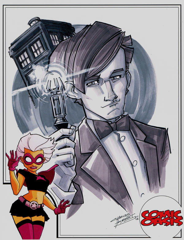 Comic Oasis Cardstock Doctor Who by KidNotorious