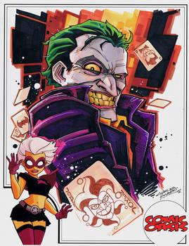 Comic Oasis Cardstock Joker
