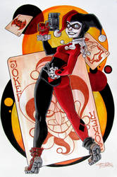 Harley Quinn by KidNotorious