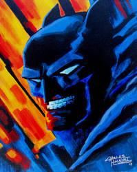 Batman Acrylic by KidNotorious