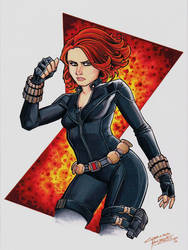 Black Widow by KidNotorious