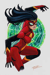 Spider-Woman by KidNotorious