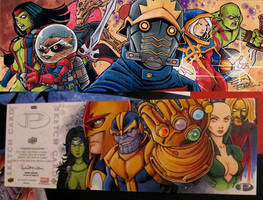 Marvel Premier Guardians of the Galaxy by KidNotorious