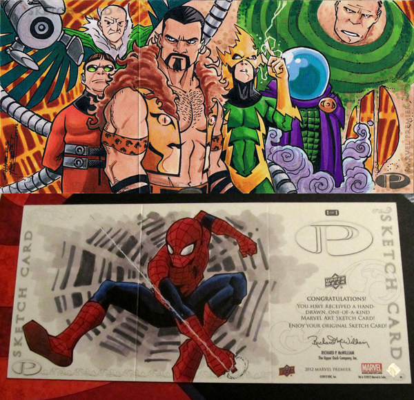 Marvel Premier Sinister Six by KidNotorious