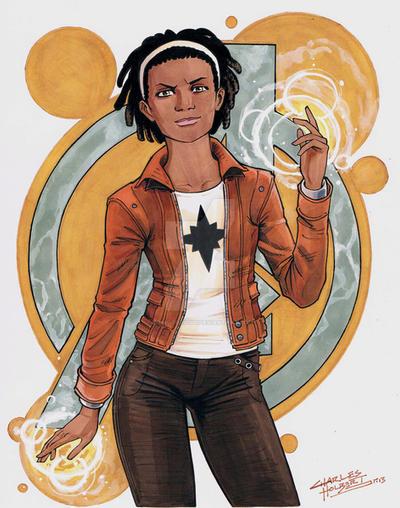 Monica Rambeau by KidNotorious