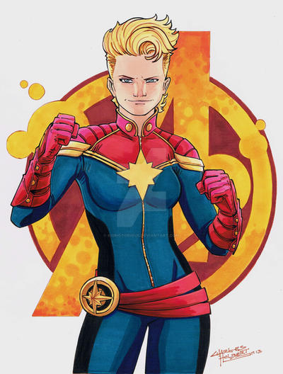 captain marvel cartoon