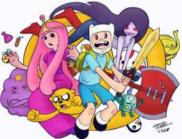 Adventure Time koi colors