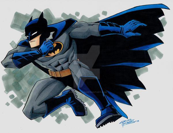 Batman by KidNotorious